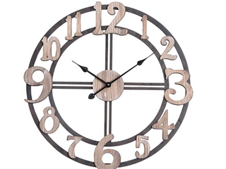 Oversized Roman Round Wall Clock 28