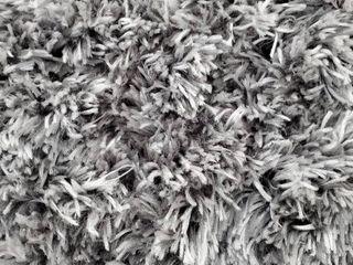 Feather Shag Rug 8 6x11 6 Grey AWVE16A