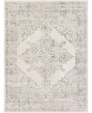 Abbie   Allie Rugs Roma Rom 2322 Charcoal 9  x 12 3  Area Rug