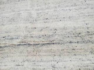 Viana Handmade wool rug 8x10 Gray and White