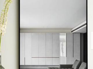 Modern Thin Frame Wall Mounted Hanging Bathroom Vanity Mirror Retail 144 99