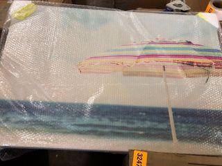Marmont Hill Handmade Beach life Painting