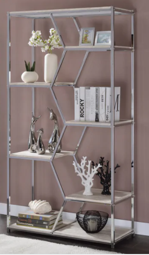 Silver Orchid Marion 72  Glam Shelves