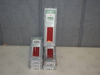 72 Dixon Red China Markers
