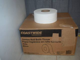 12 Jumbo Roll Bath Tissue