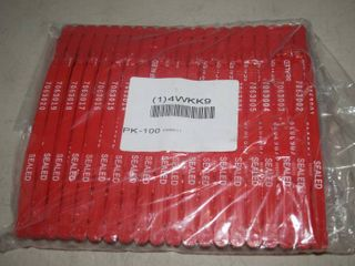 1000 Numbered Truck Trailer Seals