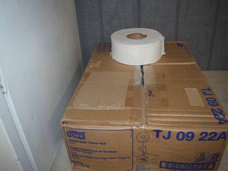12 Jumbo Rolls Toilet Tissue