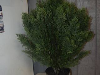 Artificial Evergreen Bush 3 Feet