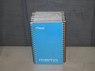72 Spiral Memo Notebooks