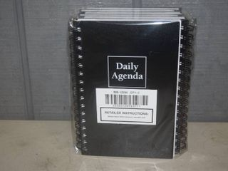 6 Mead Daily Agenda Undated Planners