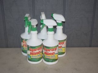 5 Bottles Spray Nine Degreaser