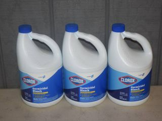 3 Gallons Clorox Bleach