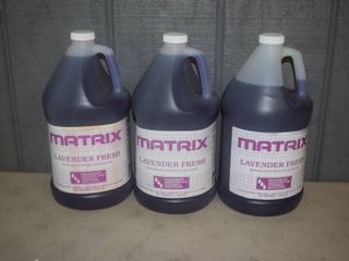 3 Gallons Matrix lavender Fresh Deoderant Concentrate