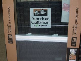 American Craftsman Replacement Window
