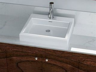 Ceramic Sink and Faucet