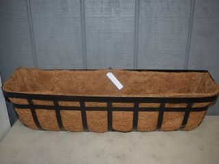 30  Plow and Hearth Flat Iron Window Deck Planter