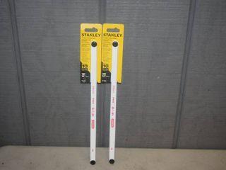 20 Stanley Bi Metal Hacksaw Blades