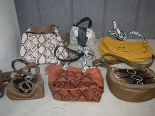 7 leather Purses