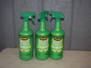 3 Bottles Pyranha Zero Bite