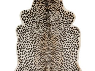 5 3 X7 10  Cheetah loomed Novelty Area Rug   Erin Gates By Momeni