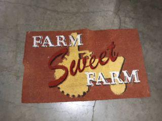 Farm Sweet Farm door mat