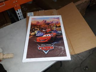 Cars framed poster