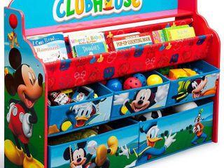 Disney Mickey Mouse Deluxe Boy   Toy Organizer   Delta Children