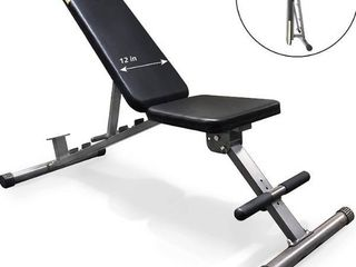 Fitness Reality 1000 Super Max Weight Bench with UPGRADED WIDER Backrest Seat  2019 Version  800 lb  2804  Retail   149 00