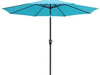 large Turquoise Patio Umbrella