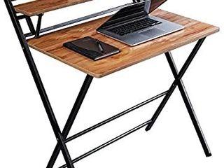Jiwu 2 style Folding Desk For Small Space Home Corner Desks Simple Computer Desk