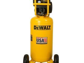 DeWalt DXCM271 Portable 27 Gallon Oil Free Electric Vertical Air Compressor