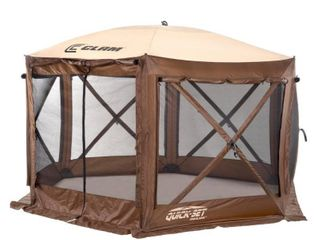 Screened Shelter Clam Outdoors
