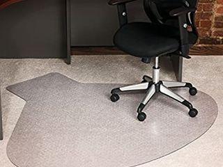 Es Robbins Everlife Hard Floor Chair Mat 66 x60  Clear