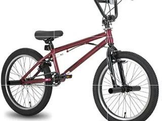 Hiland BMX Freestyle Bike for Beginner Riders  Double U Brakes with 360 Degrees Rotor  20 Inch Wheels