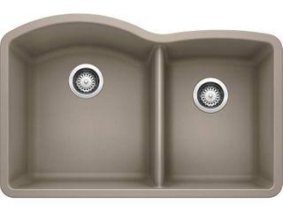 Blanco 441284 Diamond 1 3 4 Bowl Silgranit II Sink  Truffle