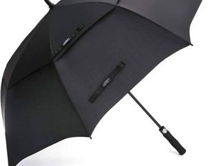 G4Free Automatic Open Golf Umbrella Extra large Oversize Double Canopy Vented Windproof Waterproof Stick Umbrellas