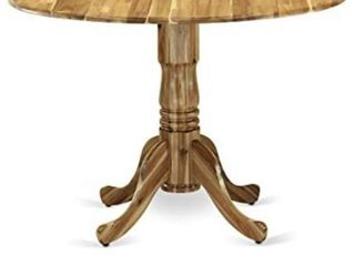 East West Furniture DlT ANA TP Dublin Dining Table Pedestal only  top not included