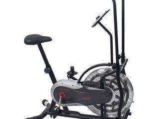 Sunny Health   Fitness SF B2715 Zephyr Upright Compact Air Fan Bike