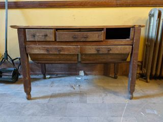 Antique Bakers Table