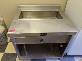 Randell Electric Hot Food Table With Well  Buyer Responsible For Removal
