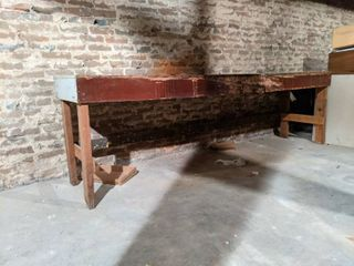 Wooden Work Table  Buyer Responsible For Removal