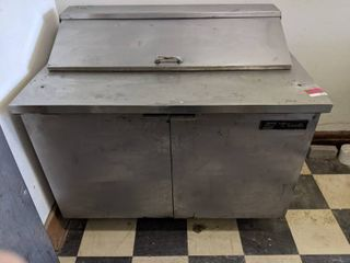 True Refrigerated Prep Table  Buyer Responsible For Removal
