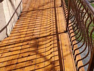 35ft New Cedar Deck With Iron Railing