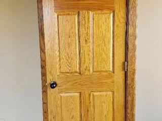 30in x 79in Solid Wood Door