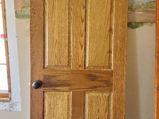 30in x 79 5in Solid Wood Door