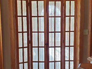 Set Of Folding French Doors
