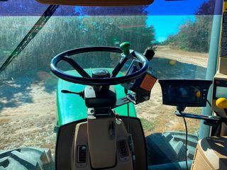 Trimble EZ Steer on JD 9400 Tractor