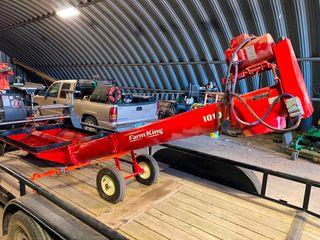 Buhler Farm King 1010 220 Volt Elect  Unloading Auger  like New