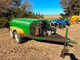 600 Gal  Palmer Diesel Fuel Tank w Kohler Engine