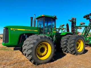 1998 JD 9400 4WD Tractor  5458 Hrs  710 70R 38  Tires   4  Remotes  NOTE Trimble EZ Steer  Sells Se
